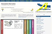 Aperçu du site Association Alternative